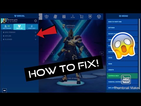 How To Fix Fortnite Mobile Can't See Friends Glitch