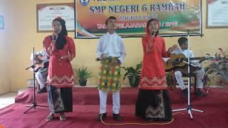 Indonesia Jaya - Chaken M (Vocal Group SMP Negeri 6 Rambah)