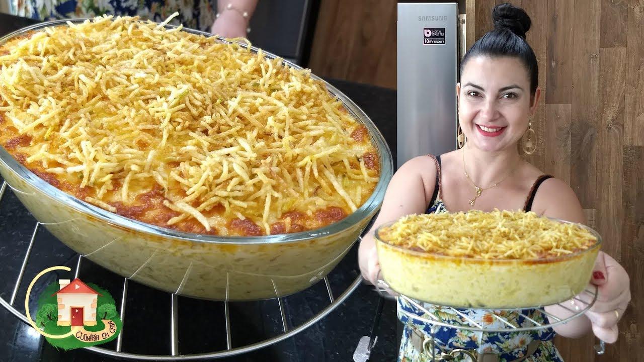 Fricassé De Frango Fácil E Rápido Simples De Fazer Culinária Em