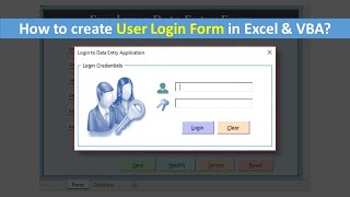 How to create User Login Form in VBA and Excel (Step by Step Guide)