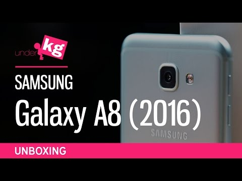 Samsung Galaxy A8 (2016) Unboxing [4K]