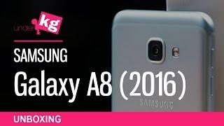 Samsung Galaxy A8 (2016) Unboxing [4K]