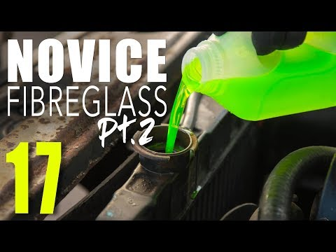 // Fibreglass Tutorial Pt.2, Cortina Coolant Change & Rad Flush, 4x4 // SOUP Classic Motoring 17