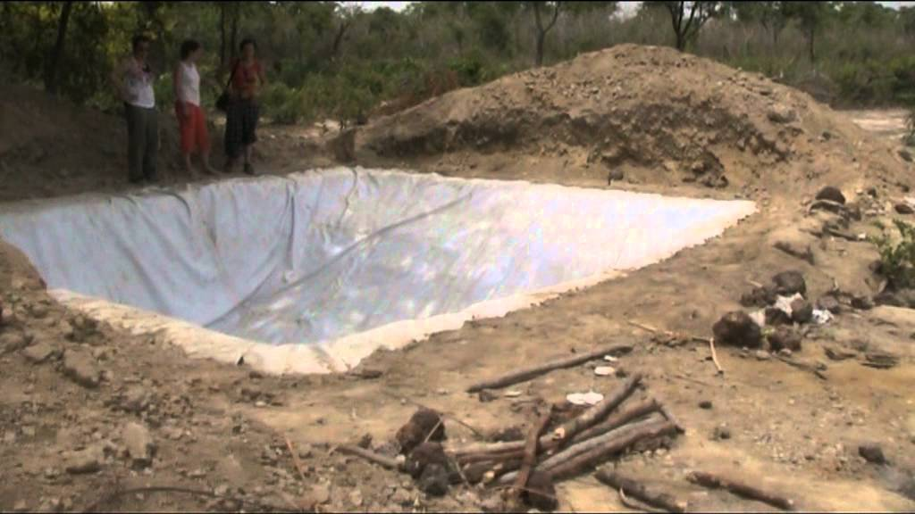 Final de la balsa de aguas ongd profesores cooperantes for Alberca para riego
