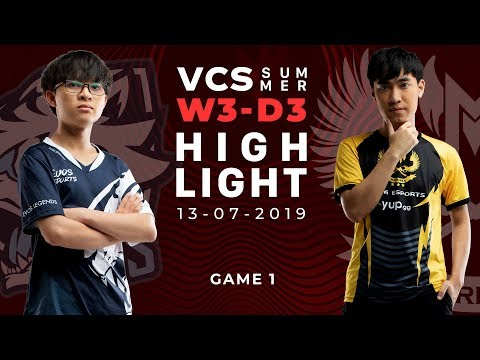 EVS vs GAM_HighLights [VCS Mùa Hè 2019][13.07.2019][Ván 1]