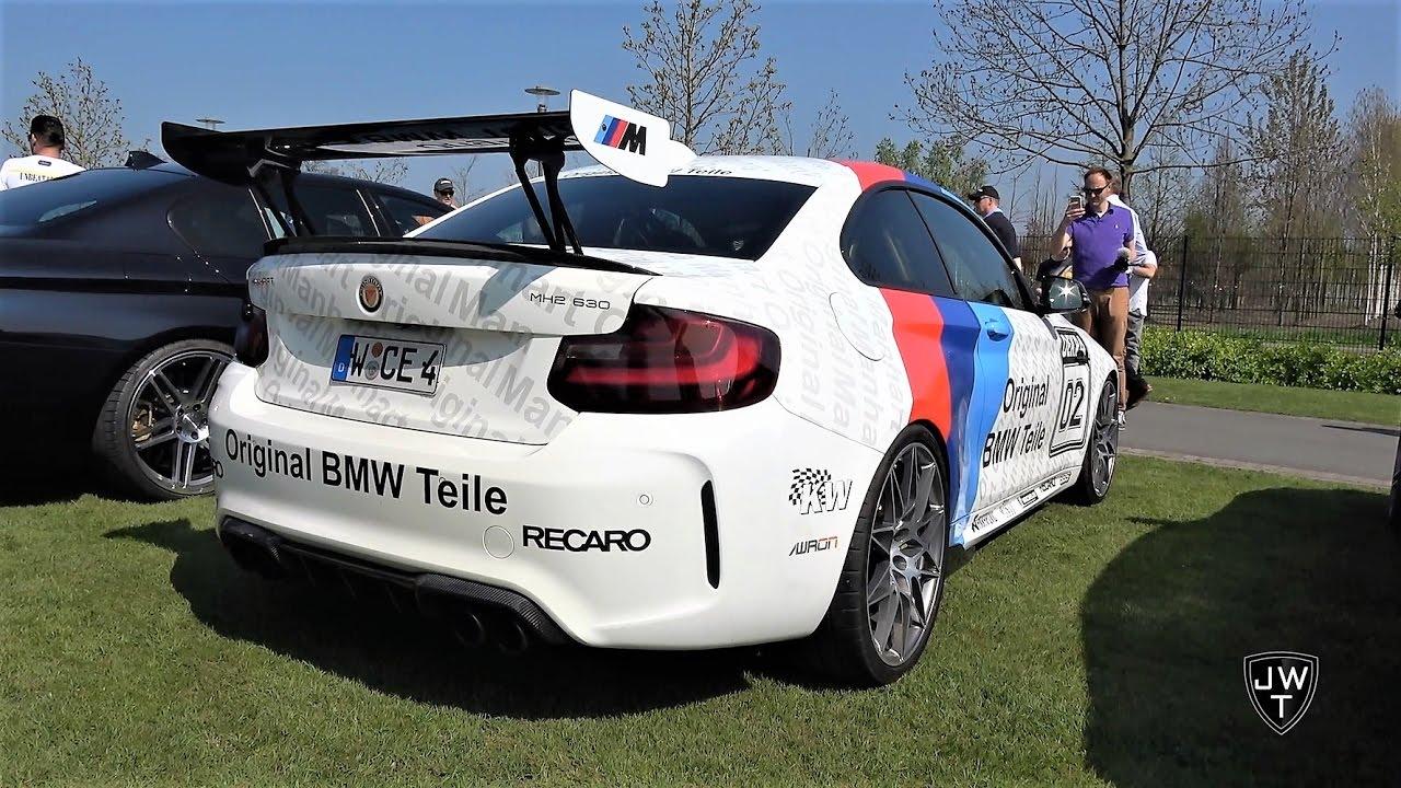 INSANE 630HP BMW M2 MANHART MH2! REVS & Acceleration Sound!