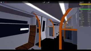 Roblox, Stepford County Railway, Airlink treno in treno dal centro dell'aeroporto al terminal 3 stazione!!!