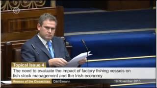 Monitoring of Super-Trawlers in Irish Territorial Waters