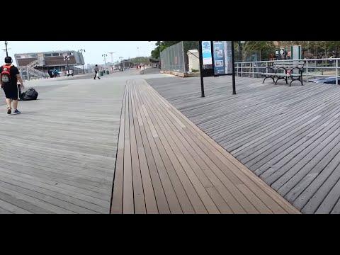 Рассказы о Нью-Йорке. Бруклин. Брайтон. Бордвок.New York. Brooklyn. Brighton. Boardwalk.