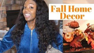 My Fall Home Decor Haul 2018 | Home Decorating Ideas | Angelgrace2