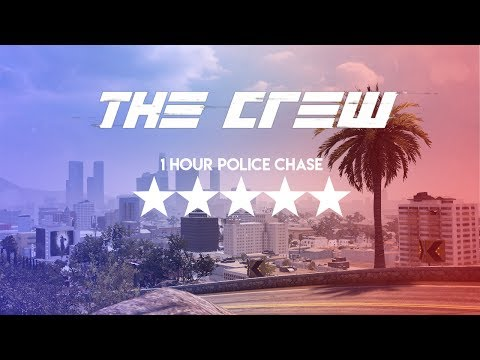 The Crew [Closed Beta] - 1 Hour Police Chase 5 Stars |PC Version