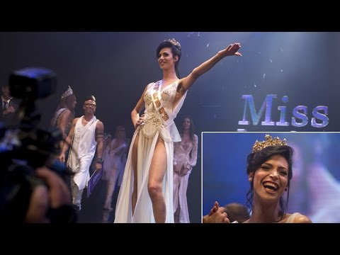 Christian Arab wins Israel's first transgender pageant