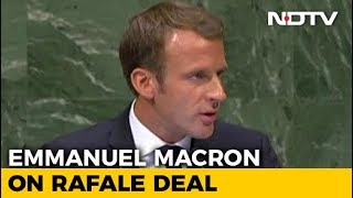 Wasnt In Power When Rafale Deal Signed, Says Frances Macron