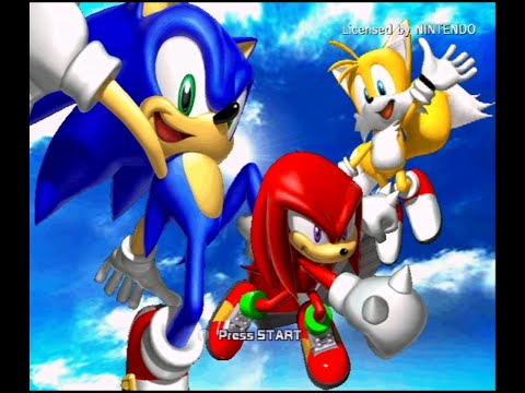 Sonic Heroes [Team Sonic] (No Commentary)