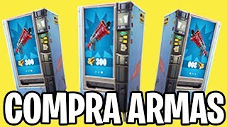 COMPRA DE ARMAS EN FORTNITE! NUEVA ACTUALIZACIÓN - FORTNITE Battle Royale