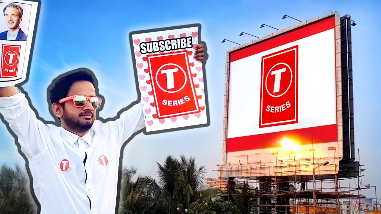 T-Series Billboards - INDIA REACTS