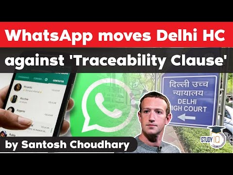 WhatsApp moves Delhi High Court against Indian Government's new privacy rules - WhatsApp vs Govt - Видео онлайн