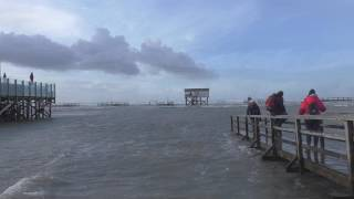 Sturmflut vor St.Peter-Ording