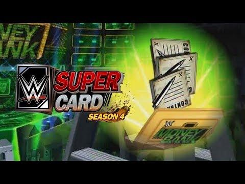 WWE SuperCard - C'est comme si j'avais une mallette Money in the Bank
