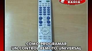 CÓMO PROGRAMAR UN CONTROL REMOTO UNIVERSAL SONY RM-V310 REMOTOS BAHIA