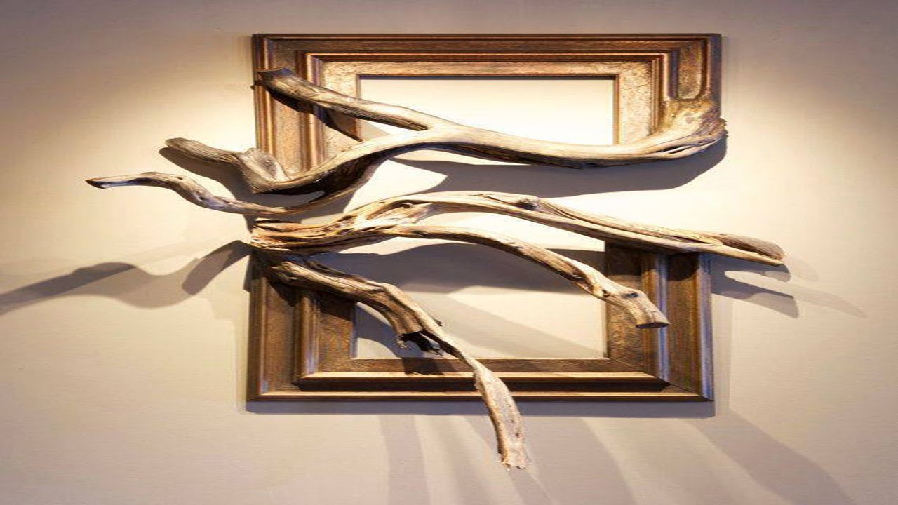 Wood Frame With Grafted Manzanita Branch - YouTube