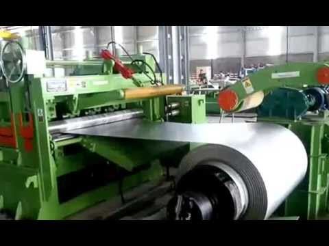 Automatic Coil Cutting Shear Straightening Production Line