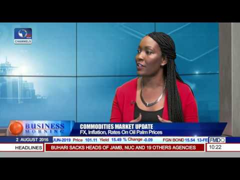 Business Morning: Effect Of FX On Palm Oil Prices