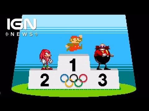 Mario and Sonic at the Tokyo 2020 Olympics Features 2D Versions - IGN News