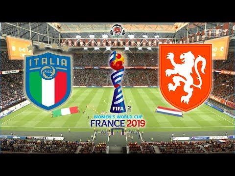 Italia X Holanda Mundial Feminino 2019 Na Franca 29 06 2019 Youtube