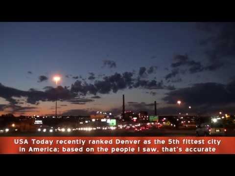 13-05 Denver Colorado - I-25 North and South at Nightfall