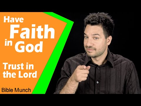 Have Faith in God - Trust in the Lord | Jeremiah 48:7 Devotional | Bible Study