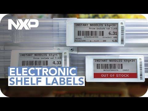 .電子貨架標籤的組成和發展前景