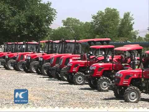 China donates agricultural equipment to Afghanistan