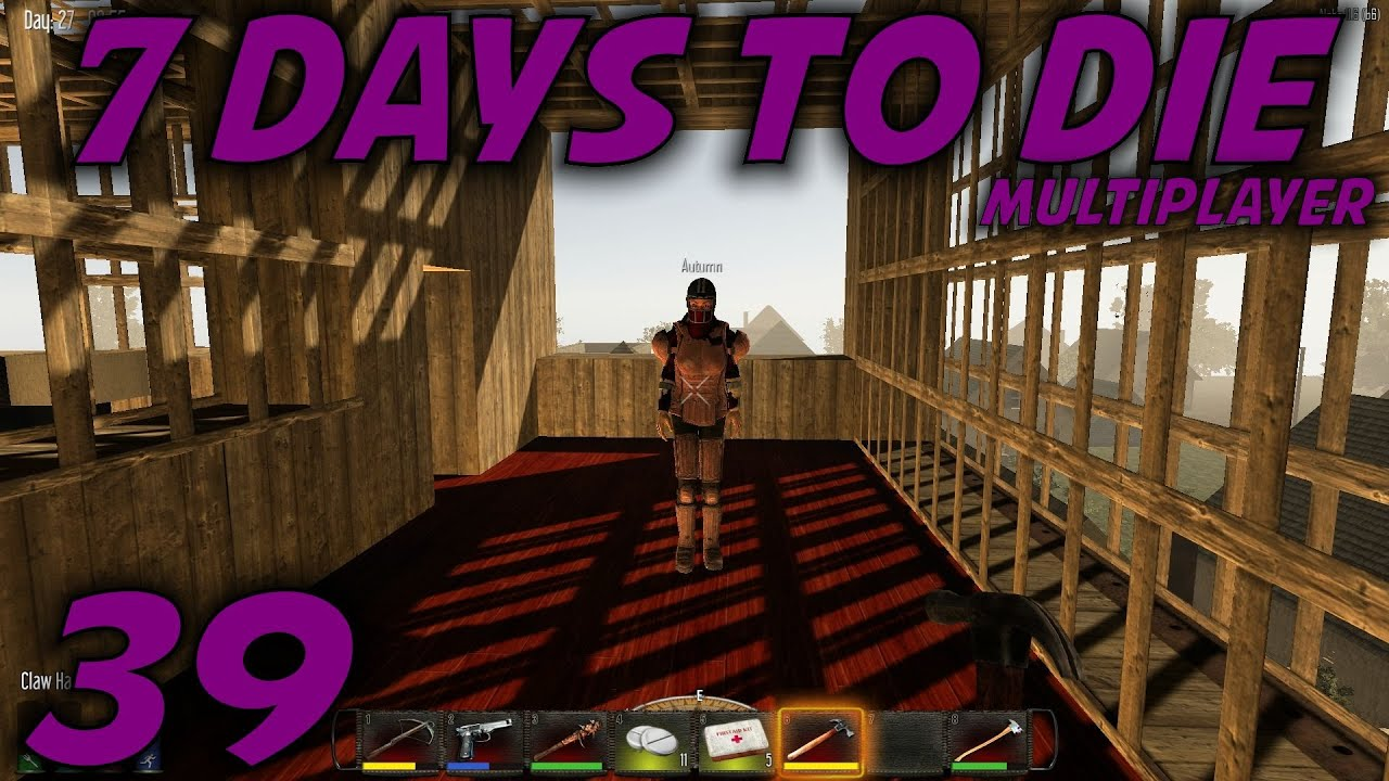 7 days to die alpha 11 husband wife multiplayer let 39 s for Wood floor 7 days to die
