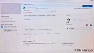 How to Fix the YouTube Video Upload Stuck at 95% or 0% Processing