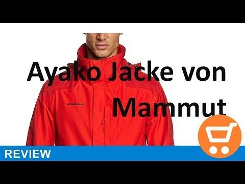 official photos 67520 f7944 Mammut Herren Hardshelljacke Ayako - Review | deutsch / german