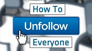 How To UNFOLLOW on Facebook (Desktop & Mobile)