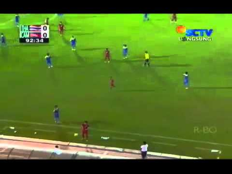 THAILAND VS CAMBODIA 0   0 SEA GAMES 2013