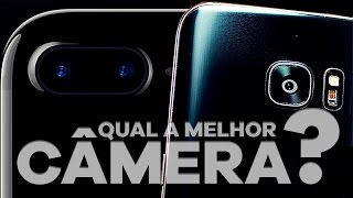 Qual câmera é melhor, Iphone 7 Plus ou Galaxy S7 Edge?