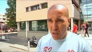 Le mouvement des sapeurs-pompiers continue (Montpellier)