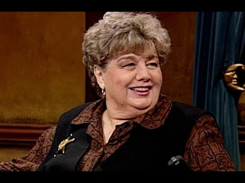 """Shelley Winters Holds Her Breath For A Full Minute – """"Late Night With Conan O'Brien"""""""