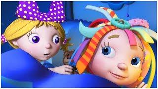 رسوم متحركة للاطفال | حكاية الليل | مجموعة | قناة براعم | الدنيا روزي | Spacetoon | Baraem