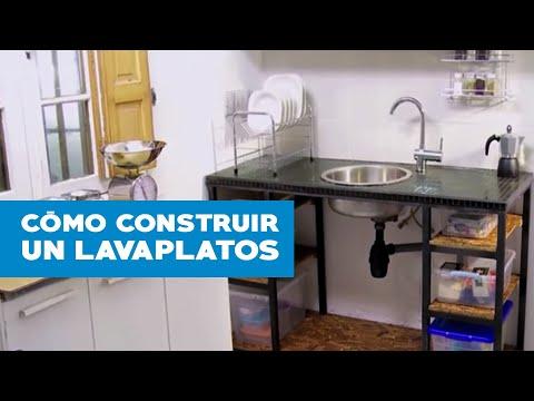 Cmo construir un lavaplatos  YouTube