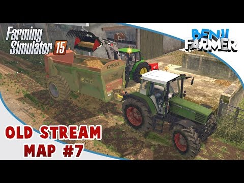 Farming Simulator 15 | Old Stream Map | Épisode 7 | Épandage de Fumier!