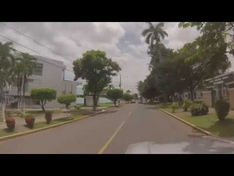 Driving in David, Panama