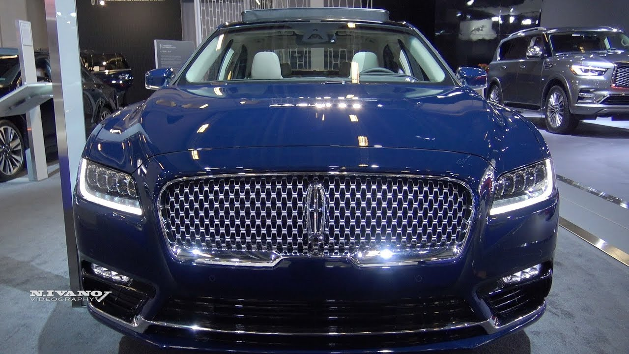 2018 Lincoln Continental Awd Exterior And Interior Walkaround 2018 Montreal Auto Show Youtube