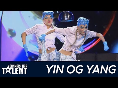 Yin & Yang - Danmark har talent - Semifinale live