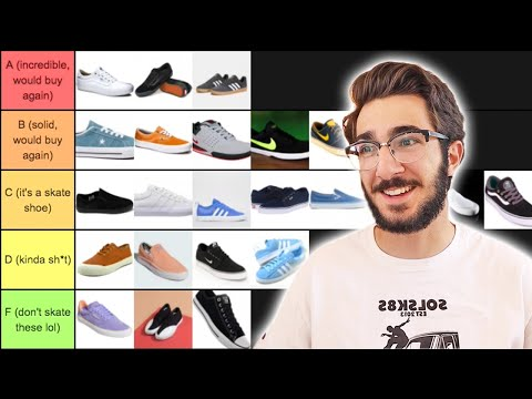 RANKING ALL MY SKATE SHOES