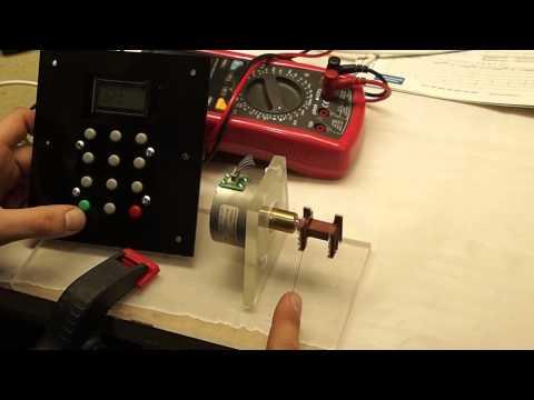 Автоматизированный намотчик катушек на AVR