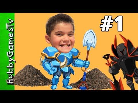 Shovel Knight Review Nintendo HobbyGamesTV